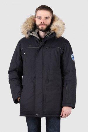 Мужская зимняя куртка т.синий
