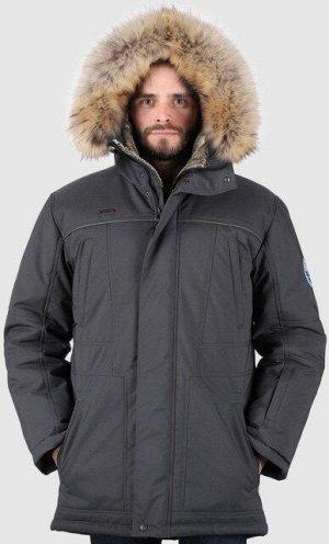 Мужская зимняя куртка графит