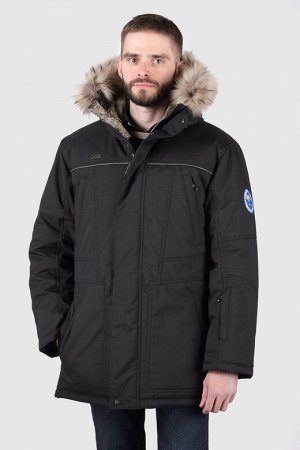 Мужская зимняя куртка черный