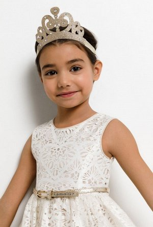 Резинка для волос детская Mindelo светло-золотой