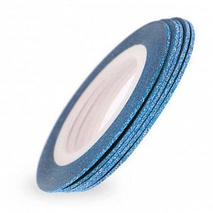 Лента для ногтей 0,8мм (синий)