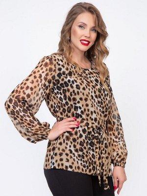 Блуза Богема (леопард)