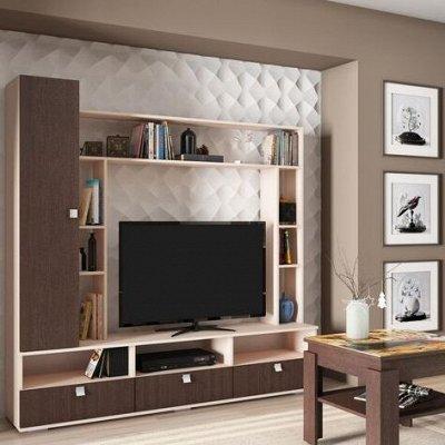 Шкафы распашные, уловые, купе. С зеркалами и без — Модульная мебель для гостинных — Шкафы, стеллажи и полки