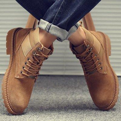 Удобная парочка. Обувь на все сезоны! Акция - низкая цена — Утепленные мужские ботинки — Низкие