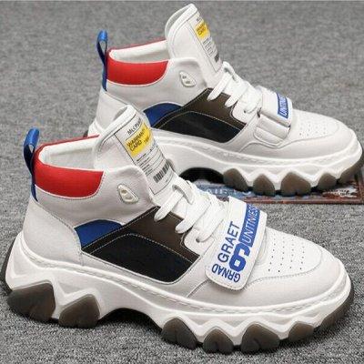 Удобная парочка. Обувь на все сезоны! Акция - низкая цена — Мужские кеды и кроссовки. — На шнуровке