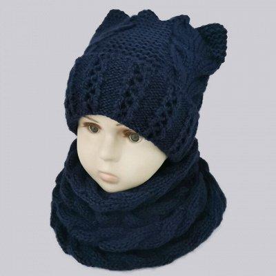 Милашка 💖 Зимние шапочки от 100 р 💝 Долгожданные 💖 — Комплекты шапка/снуд — Шапки