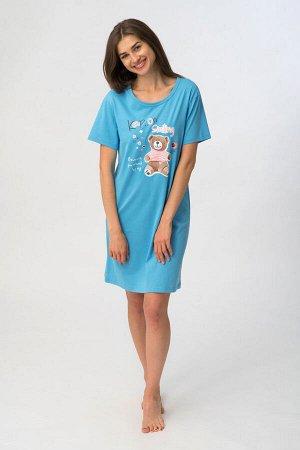 Платье 81332 Платье жен. WP 607, Состав: 100%хлопок