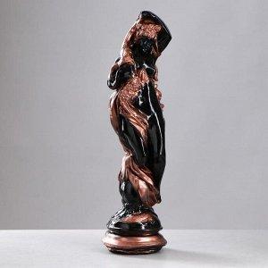 """Фигура """"Рог изобилия"""" черная медь 62х17см"""