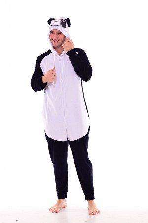 Пижама мужская Кигуруми Панда 9-146 (темно-синий)