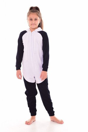 Пижама детская Кигуруми Панда 7-269 (темно-синий)