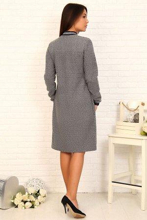 Платье Очень классное!!! Данный товар в одной расцветке ткань: футер жаккард состав: 60% хлопок, 35% п/э, 5% лайкра Теплое, уютное платье выполнено из мягкого приятного к телу футера жаккард. Модель п