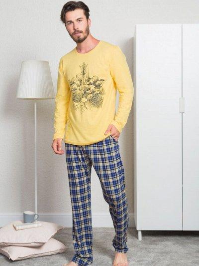 VIENETTA/Турция — Супер ассортимент от 250 руб — Мужские комплекты с брюками — Пижамы