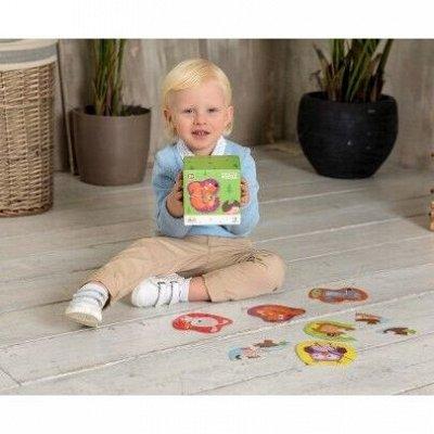 Я расту TOYS — яркие игры и развивашки для детей — Пазлы ТМ Dodo от 1-3 лет — Конструкторы и пазлы