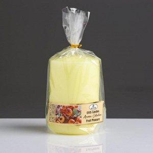 """Свеча- цилиндр """" FRUIT PLEASURE"""", ароматизированная, парафин, 6?8 см, микс"""