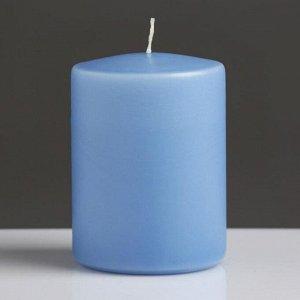 """Свеча- цилиндр """"BLUEBERRY PIE"""", ароматизированная, парафин, 6?8 см"""