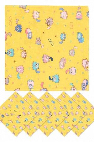 Платок носовой детский 6 шт.