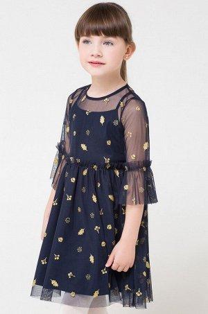 Crockid, Нарядное платье для девочки Crockid