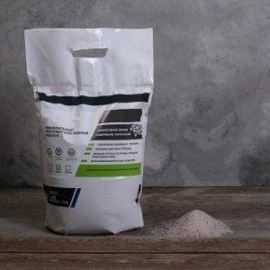 Реагент антигололёдный S (соль техническая), 10 кг, работает при —15 °C, в пакете