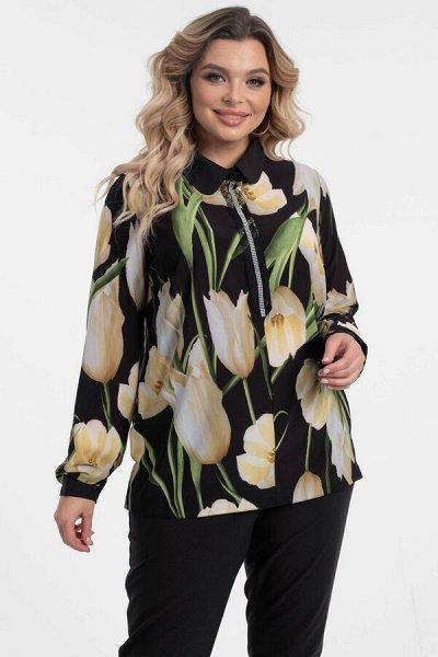 ВИЗЕЛЛ - платья блузы, юбки на все времена! до 62 размера — Рубашки plus size — Рубашки и блузы