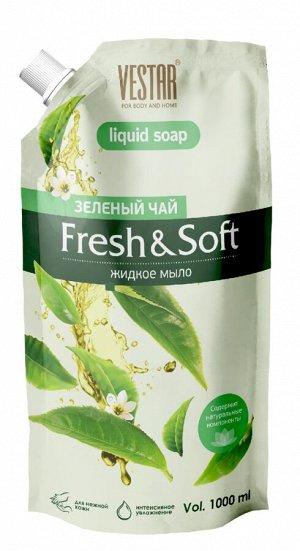 "Жидкое мыло Вестар ""Зелёный чай"", 1л"