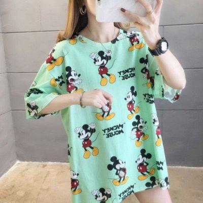 Street style модная мега-удобная одежда! Низкая цена! — Яркие футболки свободного кроя, как сейчас модно — Футболки