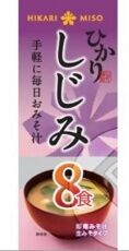 Мисо-суп HIKARI MISO с ракушками Сидзими, 8 порций, 132 гр.