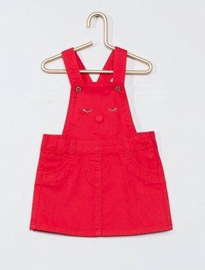 Платье из твила