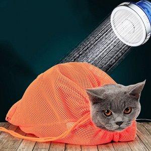 Мешок-сетка для купания и уходовых процедур, Оранжевый