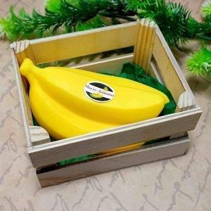 """Подарочный набор мыло ручной работы """"Ящик бананов"""""""