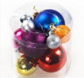 Новогодние шары для елки (набор)