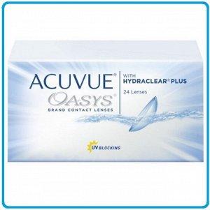 2-недельные контактные линзы ACUVUE OASYS (24 линзы)