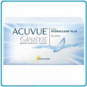 2-недельные контактные линзы ACUVUE OASYS (12 линз)