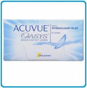 2-недельные контактные линзы ACUVUE OASYS (6 линз)