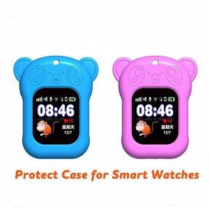 Силиконовый чехол кулон панда для умных часов Smart Baby Watch Q60, Q80, Q90, GW100