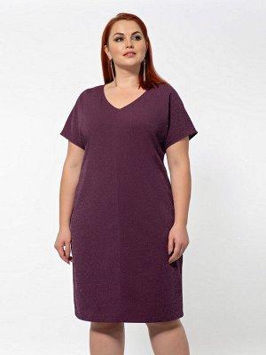 Платье 0183-1 сливовый