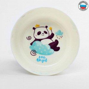Глубокая детская тарелочка Panda, 430 мл.