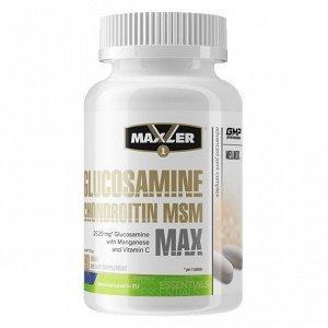 Для связок и суставов MAXLER Glucosamine-Chondroitine-MSM MAX- 90 таблеток