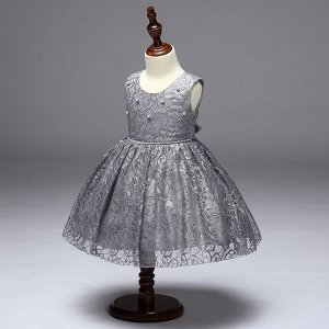 01334 Платье мод.L-9065 /серый/