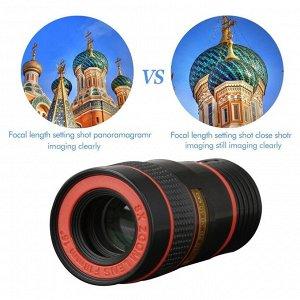 Объектив для смартфона 8X ZOOM Lens F18 mm