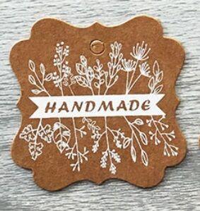 """Шильдик """"Hand Made"""""""