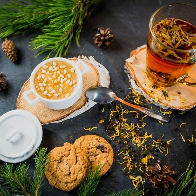 🍭Дарите вкусные подарки! Супер шоколад, чай! Акция на кофе! — Кедро-кофе — Кофейные напитки