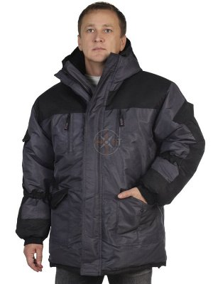 Куртка Шторм зимняя (таслан серый)