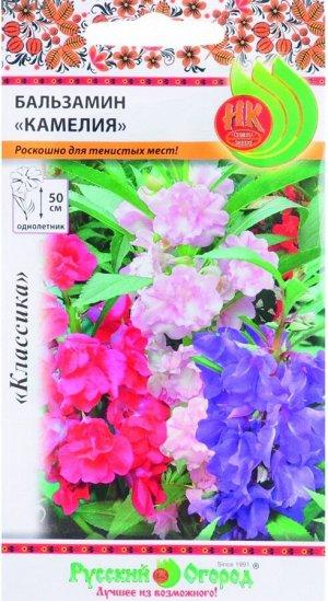 Цветы Бальзамин Камелия ЦВ/П (НК) однолетнее 50см