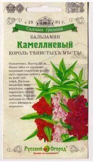 Цветы Бальзамин Камеллиевый Смесь ЦВ/П (НК) однолетнее 50см