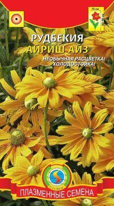 Цветы Рудбекия Айриш Айз ЦВ/П (ПЛАЗМА)