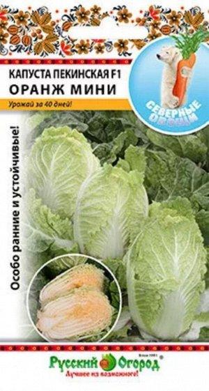 Капуста пекинская Оранж мини F1 ЦВ/П (НК) Северные овощи ранний