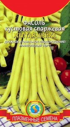 Фасоль Желтая шейка ЦВ/П (ПЛАЗМА) раннеспелый кустовой спаржевый