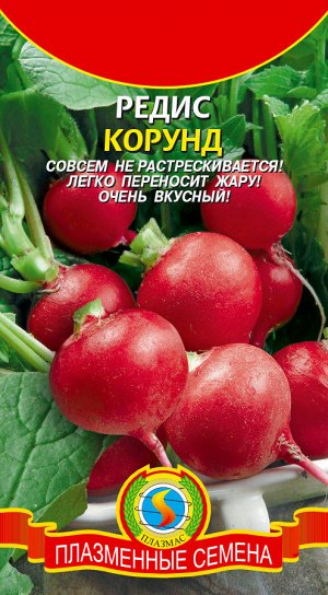 Редис Корунд ЦВ/П (ПЛАЗМА) Раннеспелый круглый