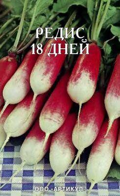 Редис на ленте 18 Дней ЦВ/П (АРТИКУЛ)