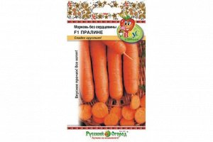 Морковь Без сердцевины Пралине (Вкуснятина) ЦВ/П (НК) среднеспелый